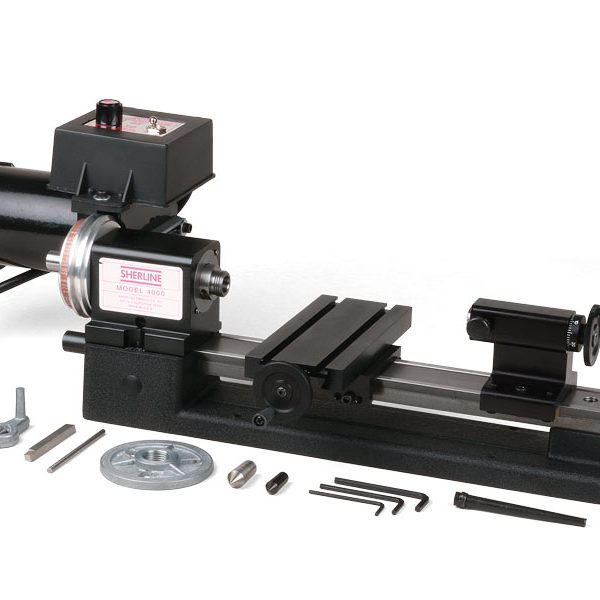 "4000 (4100)—3.5"" x 8"" lathe with standard handwheels"