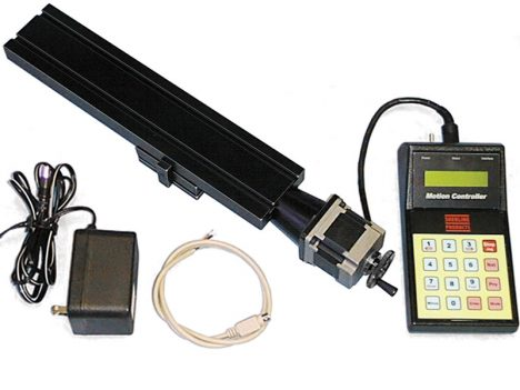 """6559 CNC 13"""" Single-Axis slide with Programmable CNC Contoller"""