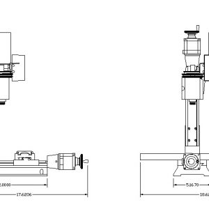 8540/8541 CNC Mill